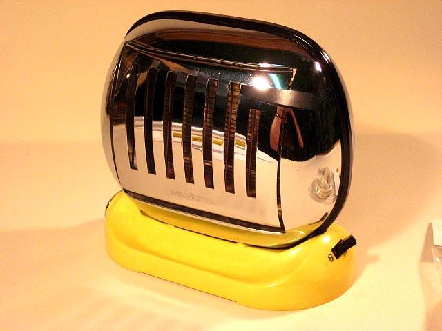 50er jahre maybaum toaster typ 581 gelb. Black Bedroom Furniture Sets. Home Design Ideas