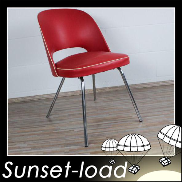 thonet lehnstuhl skai leder 50er jahre stuhl alter k chenstuhl vintage ebay. Black Bedroom Furniture Sets. Home Design Ideas