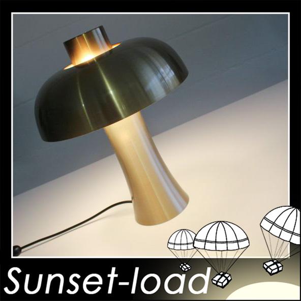 Doria alu champignon lampe de chevet couleur p che vieille for Lampe de chevet champignon
