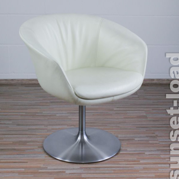 walter knoll sessel bob by pearson lloyd tulpenfu leder wei dinnerchair 1 3 ebay. Black Bedroom Furniture Sets. Home Design Ideas