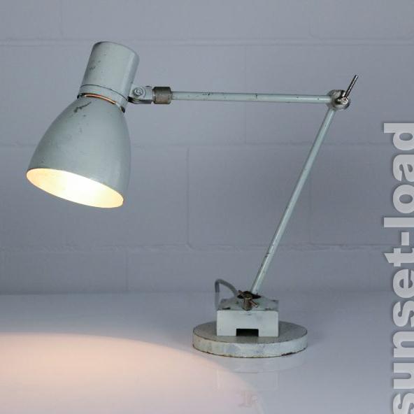 arbeits leuchte schreibtisch alte lampe industriedesign. Black Bedroom Furniture Sets. Home Design Ideas