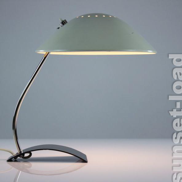 alte kaiser schreib tisch lampe arbeits leuchte modell 6840 bauhaus vintage alt ebay. Black Bedroom Furniture Sets. Home Design Ideas