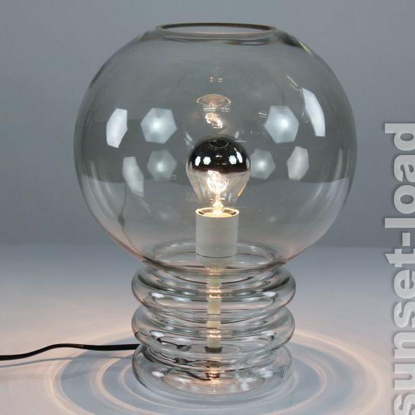 verrerie limbourg bulb luminaire 60er 70er ann es vintage lecture lampe de chevet alt ebay. Black Bedroom Furniture Sets. Home Design Ideas