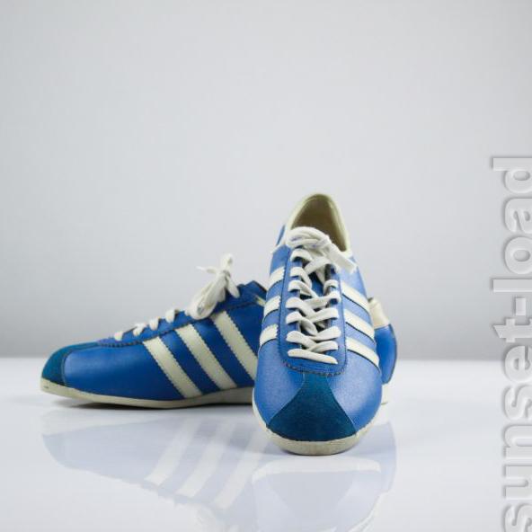 alte-Adidas-Rekord-Sneaker-Gr-40-Turn-Schuhe-Ungetragen-Oldschool-Original-60er