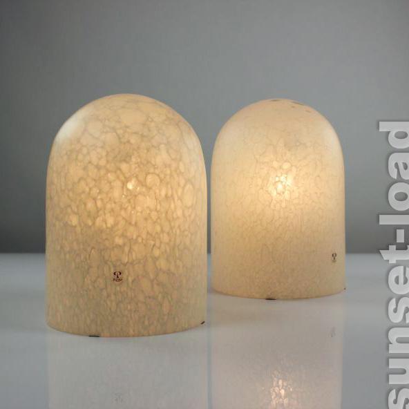 Altes paar peill putzler leuchten tisch nachttisch for Lampen tisch