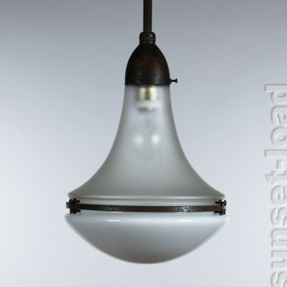 original peter behrens luzette 23cm leuchte siemens industrie lampe v 1908 3 ebay. Black Bedroom Furniture Sets. Home Design Ideas