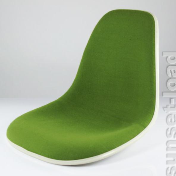 Vieille eames side chair coque fibre de verre offwhite for Eames fibre de verre