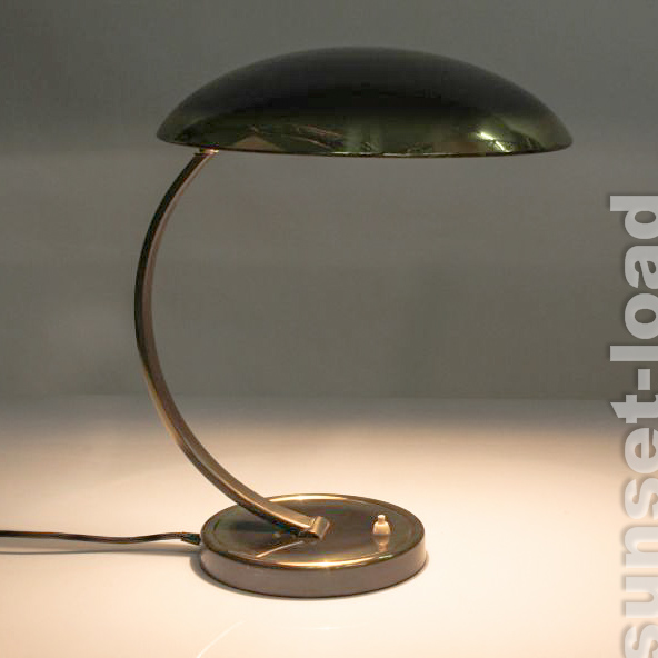alte kaiser schreib tisch lampe messing leuchte alt vintage 50er 60er jahre ebay. Black Bedroom Furniture Sets. Home Design Ideas