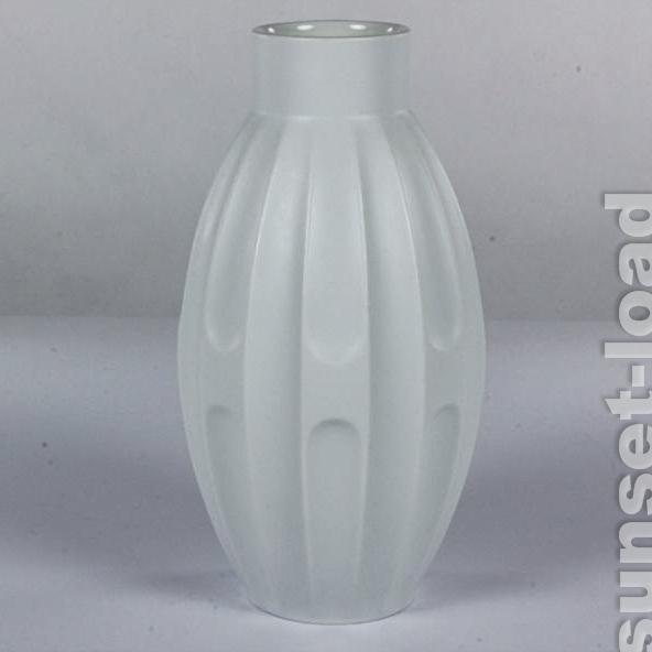 alte hutschenreuther porzellan vase heinrich fuchs op art design 60er 70er jahre ebay. Black Bedroom Furniture Sets. Home Design Ideas