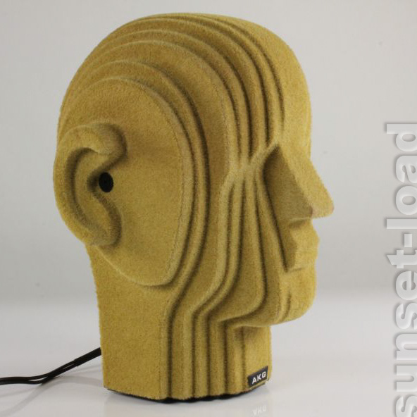 AKG-D-99-C-Harry-Vintage-Kunstkopf-Stereo-Mikrofon-70er-Jahre-alt-Vintage