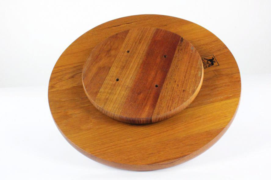 Drehbare Tisch Menage Nissen Denmark Teak Holz Anrichte ...