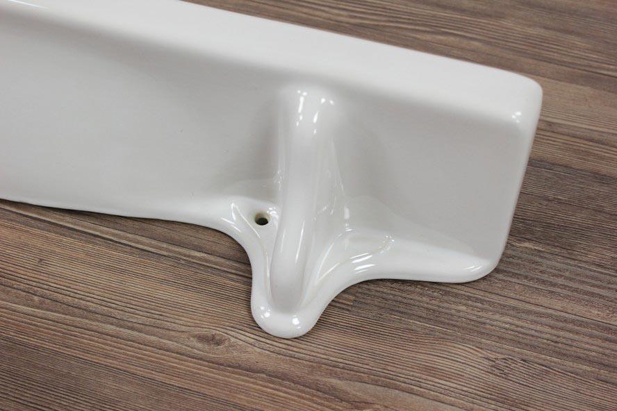 Badezimmer ablage porzellan for Spiegel wc deco