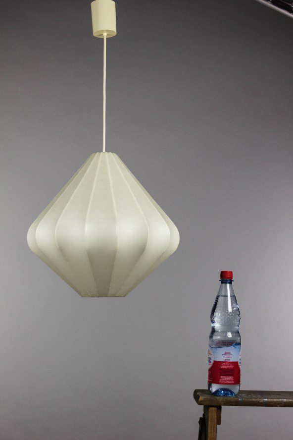 alte cocoon lamp castiglioni lampe pendel leuchte 60er jahre alt vintage ebay. Black Bedroom Furniture Sets. Home Design Ideas