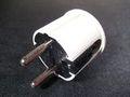 10xSchuko Winkelstecker -weiß- hochglanz 220V F12 - 2