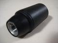 10x Fassung E14 Glattmantel Thermo schwarz F 19 - 1